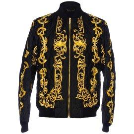 Gianni Versace-Vestes Blazers-Doré ... bf2b7d82294