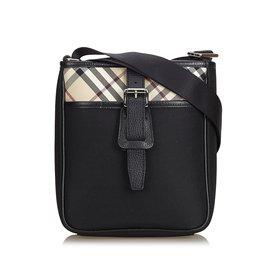 Burberry-Nylon Crossbody Bag-Black,Multiple colors