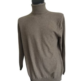 Autre Marque-Turtleneck-Light brown