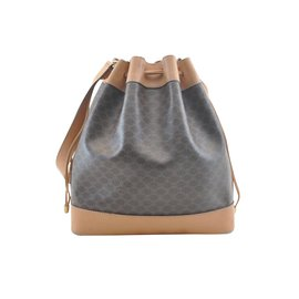 Céline-Celine Shoulder Bag Noe-Brown