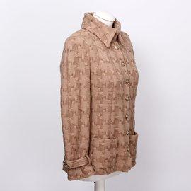Chanel-Chanel Wool Jacket-Beige