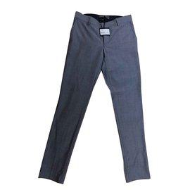 The Kooples-Pantalon de costume-Gris