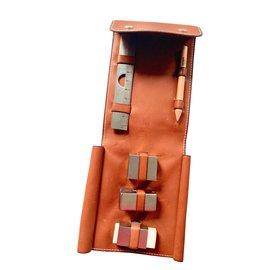 Hermès-Rarissime necessary office Hermes-Light brown