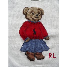 Ralph Lauren-bear-Écru
