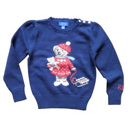 Ralph Lauren-bear-Navy blue