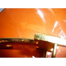 Hermès-Constance - boucle de ceinture-Doré