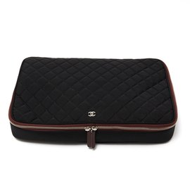 Chanel-TIMELESS COMPUTER CASE-Black