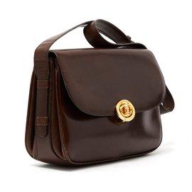 Céline-classic box brown-Brown
