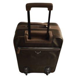 Prada-PRADA TRAVEL BAG-Bronze