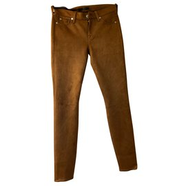 7 For All Mankind-jeans-Marron,Chataigne