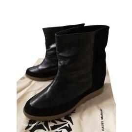 Isabel Marant-EASY BOOTS-Noir