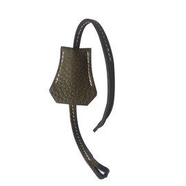 Hermès-Tirette Clochette Hermès-Taupe