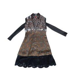 Christian Lacroix-Robes-Bronze