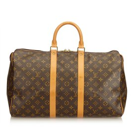 Louis Vuitton-Monogramme Keepall 45-Marron