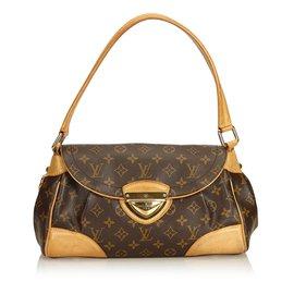 Louis Vuitton-Monogramme Beverly MM-Marron ... 67ef7b3cafd