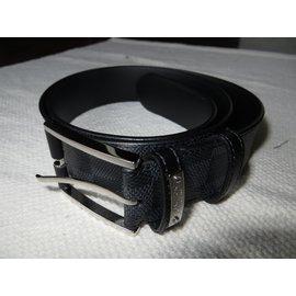 ... Louis Vuitton-Ceinture homme Louis Vuitton ref M9014-Noir 6a95370ebf4