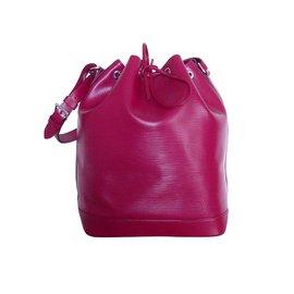 Louis Vuitton-LOUIS VUITTON NOE EPI GM-Rouge