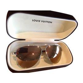 04a4094bed2e Louis Vuitton-LUnettes de soleil pour femme Louis Vuitton Z0858U-Rose,Doré  ...