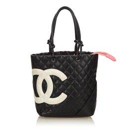 Chanel-cabas Cambon Ligne-Noir