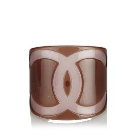 Chanel-Bracelet CC-Marron,Rose