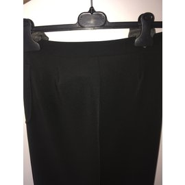 Chanel-Tailored pants - CHANEL-Black