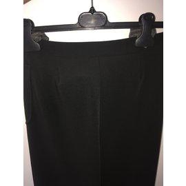 Chanel-Pantalon tailleur - CHANEL-Noir