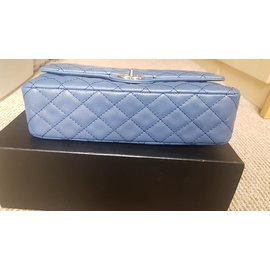 Chanel-Chanel Timeless Classic Flap-Blue