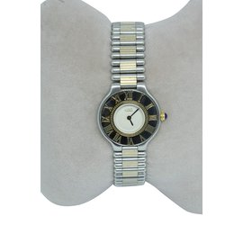 Cartier-Muss 21-Silber,Golden