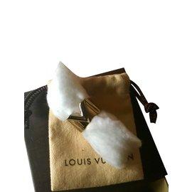 Louis Vuitton-Bague Essential V Louis Vuitton bicolore-Argenté,Doré
