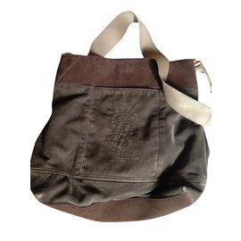 9e7c38f70 Yves Saint Laurent-Yves saint laurent messenger bag-Light brown ...