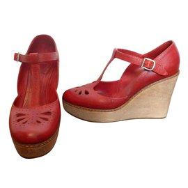 Chloé-Heels-Red