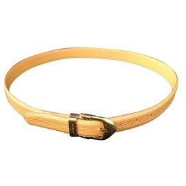 Louis Vuitton-Superbe ceinture Louis vuitton.-Beige