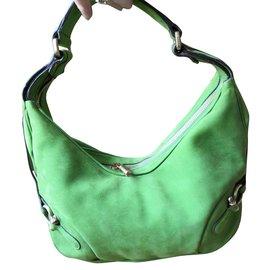 Burberry-Fabulous Burberry leather bag-Light green