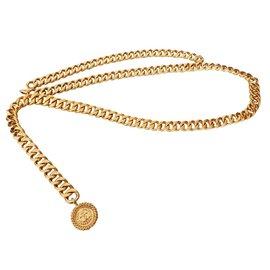 Chanel-Ceinture métal doré CHANEL-Doré