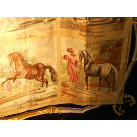 Hermès-race de chevaux-Beige