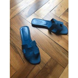 Hermès-Oran-Bleu clair