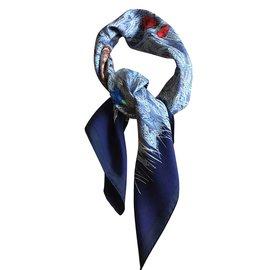 Hermès-Les Blés-Bleu Marine