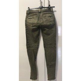 Balmain-jeans-Kaki