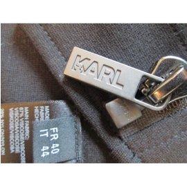 Karl Lagerfeld-Motard val 400€-Noir