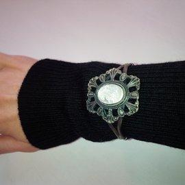 Autre Marque-Bracelets-Gris anthracite