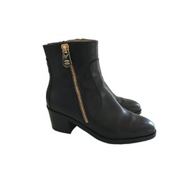 Chanel-BOTTINES CHANEL-Noir ... aca7c1fc07f