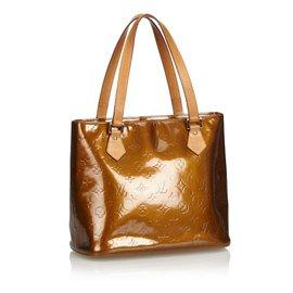 Louis Vuitton-Vernis Houston-Marron,Bronze