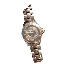 Chanel-J watch12 Chanel 38 MM-Grey