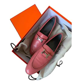 Hermès-Mocassins Paris - Hermès-Rose