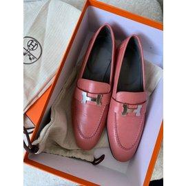 Hermès-Moccasins Paris - Hermès-Pink