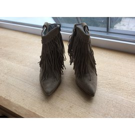 Free Lance-Ankle Boots-Beige
