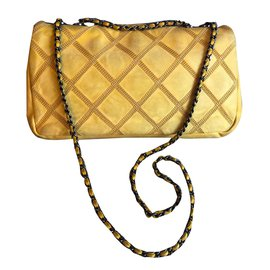 Chanel-classical-Yellow
