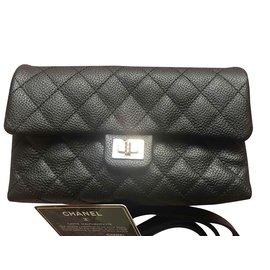 Chanel-Uniform Pouches-Black