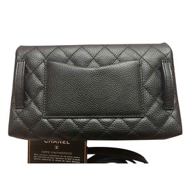 Chanel-Pochettes Uniforme-Noir