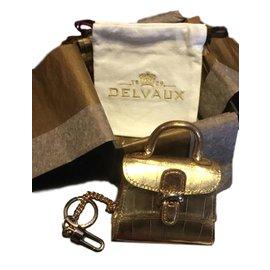 Delvaux-Bag charm poussière d étoiles-Doré